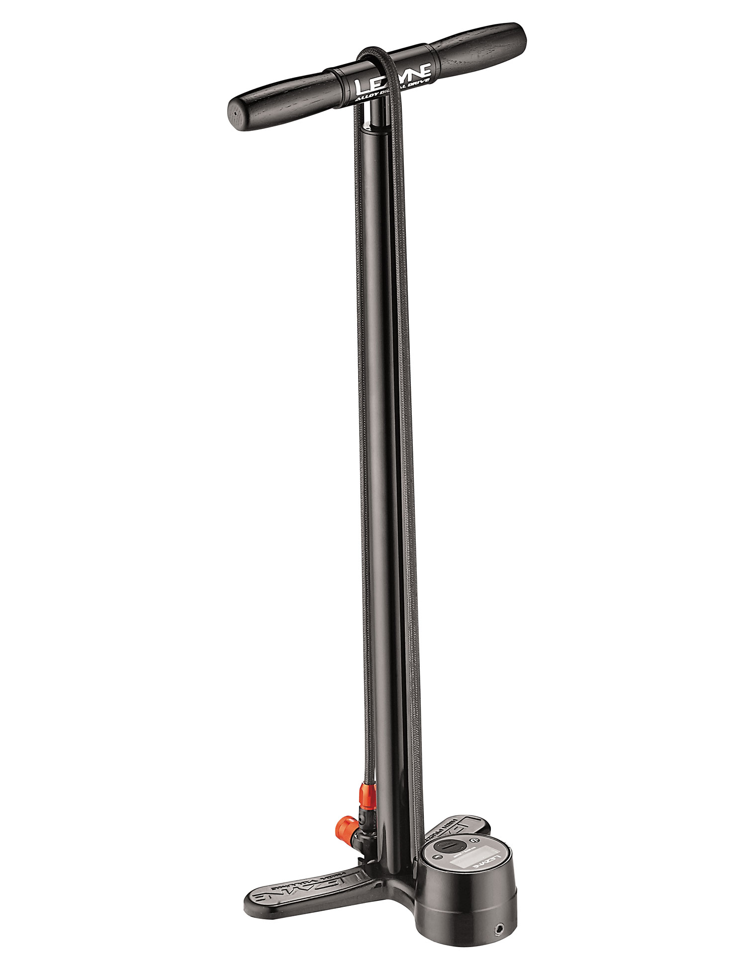 hustilka Lezyne Alloy Digital Floor Drive black