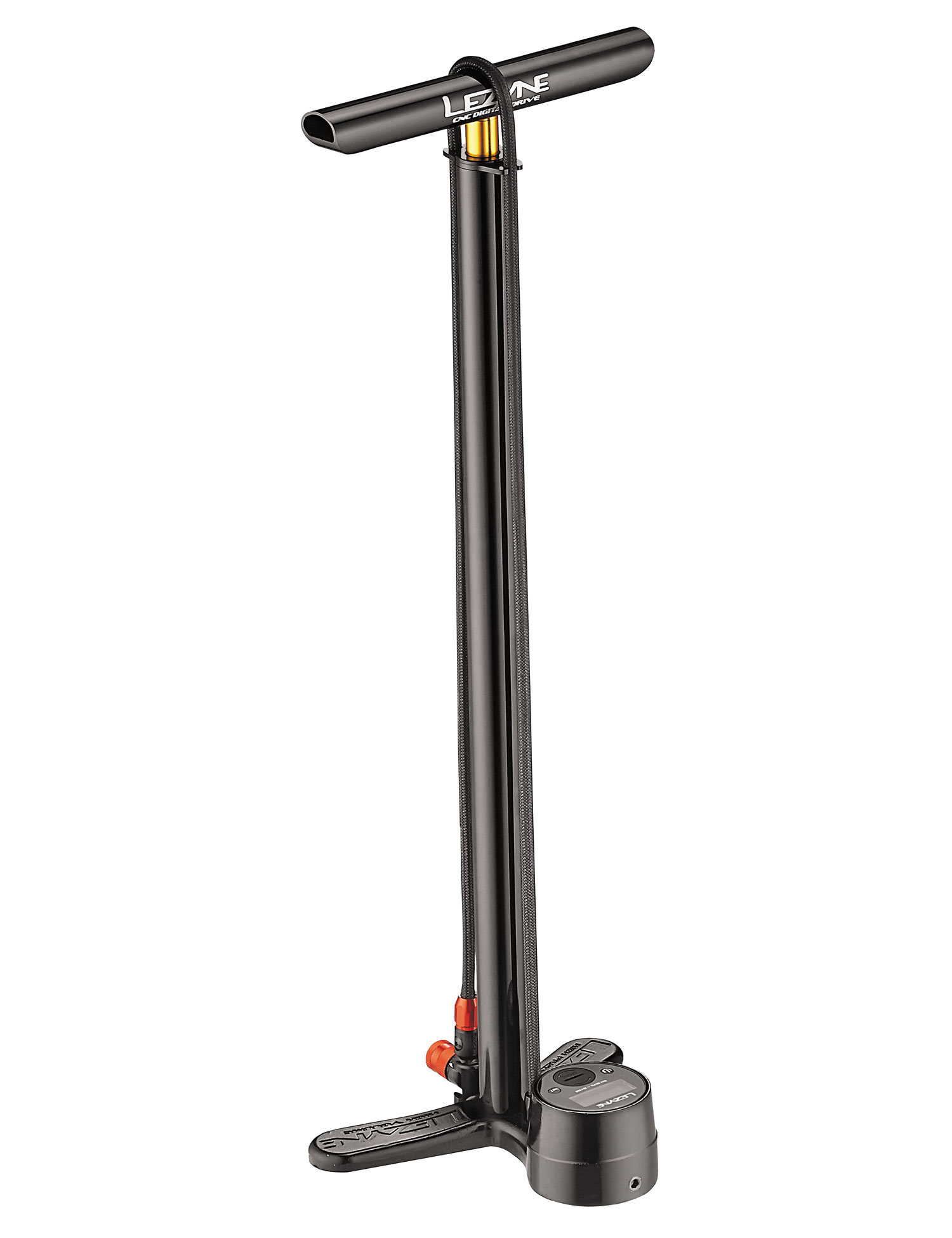 hustilka Lezyne CNC Digital Floor Drive black