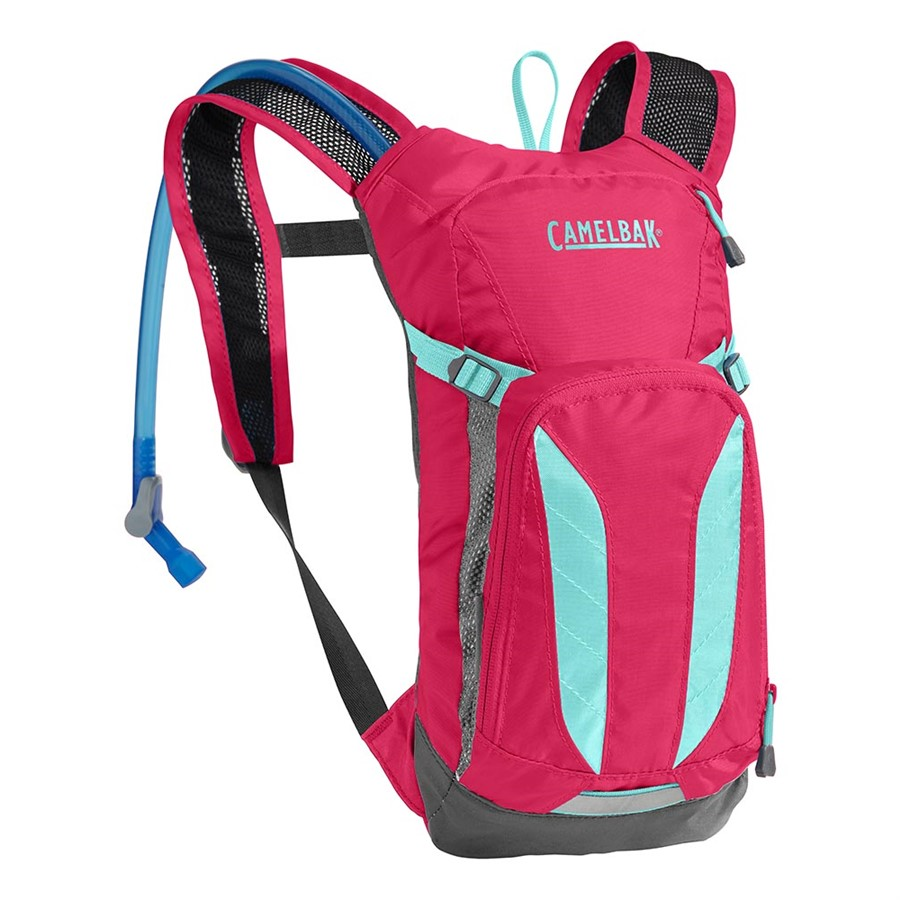 batoh Camelbak Mini-Mule Kid pink/blue 1,5l