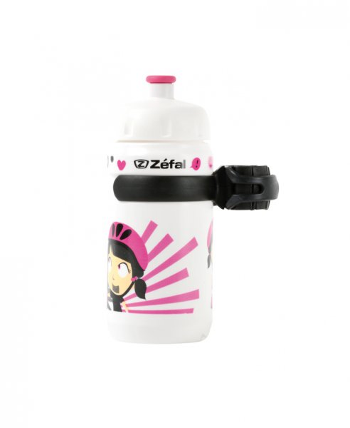lahev Zefal Kid Z-Girl 350ml/20oz white/pink
