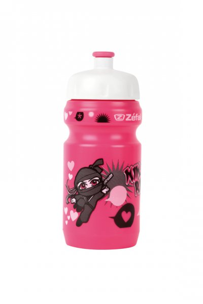 lahev Zefal Kid Ninja Girl 350ml/20oz pink