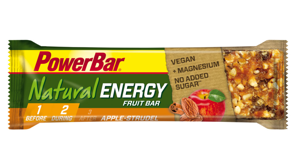 energetická tyčinka PowerBar Natural 40g apple strudel