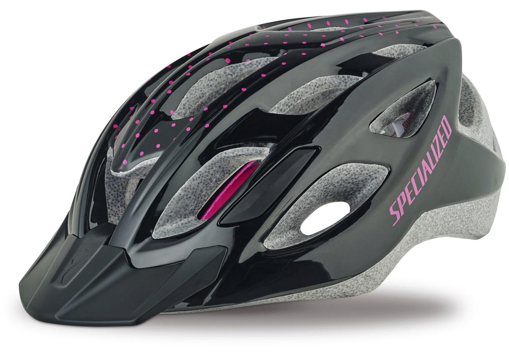 helma Specialized Duet gloss black/pink