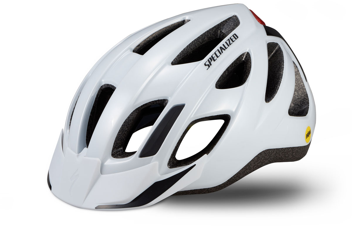 helma Specialized Centro LED Mips 2020 gloss white