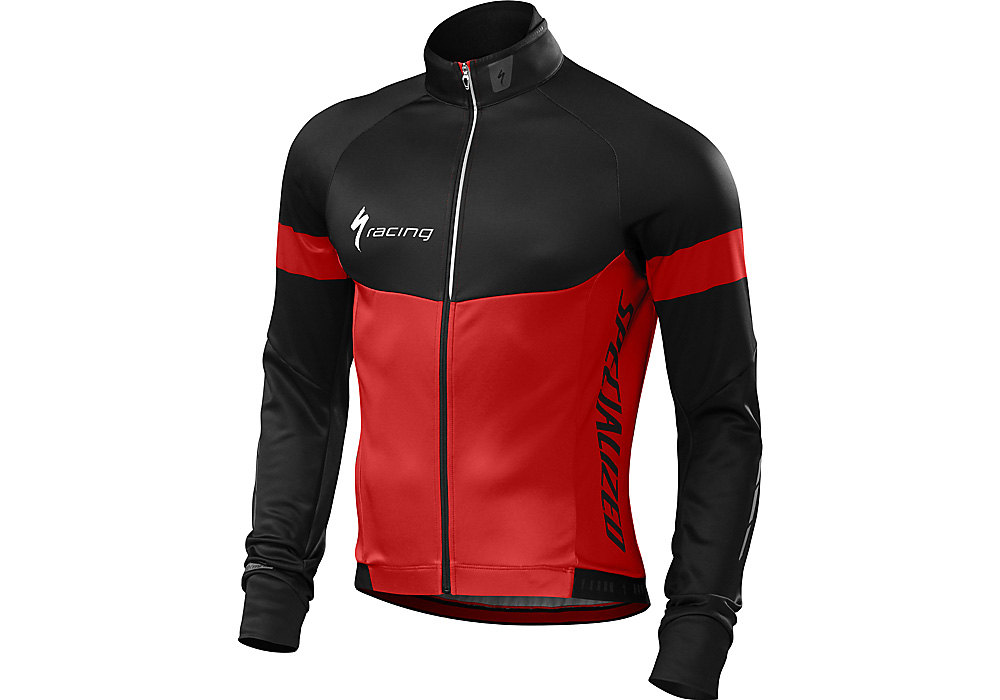 zimní dres Specialized Therminal 2016/2017 red/black team