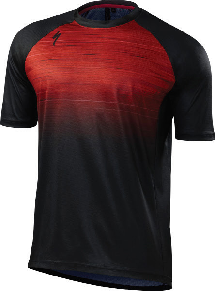 dres Specialized Enduro Comp jersey 2018 red speed blur
