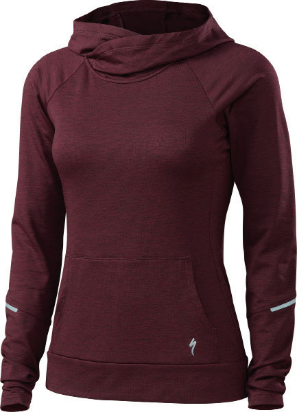 dámská mikina Specialized Shasta Hoodie 2018 black ruby heather