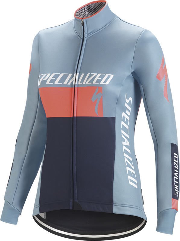 dámská bunda Specialized Element Rbx Comp logo 2018 blue/coral