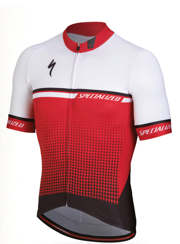 dres Specialized SL Expert 2018 red