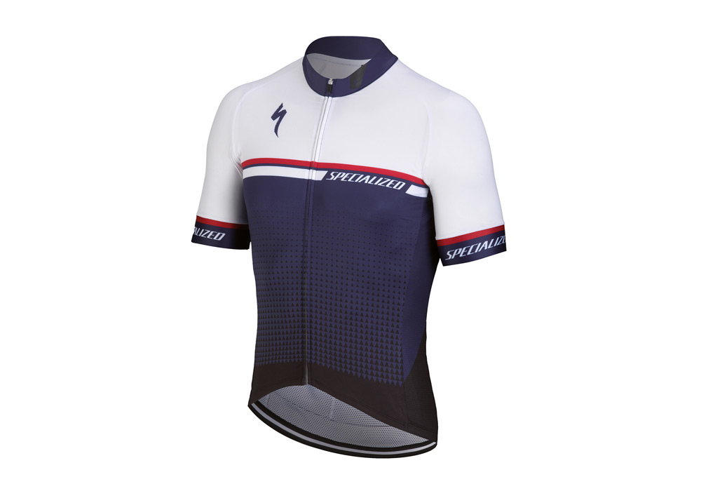 dres Specialized SL Expert 2018 blue/white