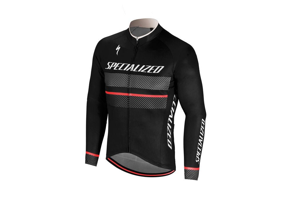 dres Specialized Rbx Comp Logo LS 2018 black/anthracite