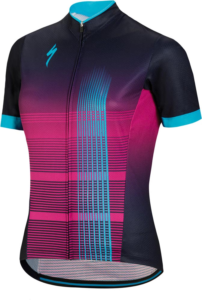 611ab5ee5 Specialized Rbx Comp Women s jersey 2018 blue violet neon blue ...