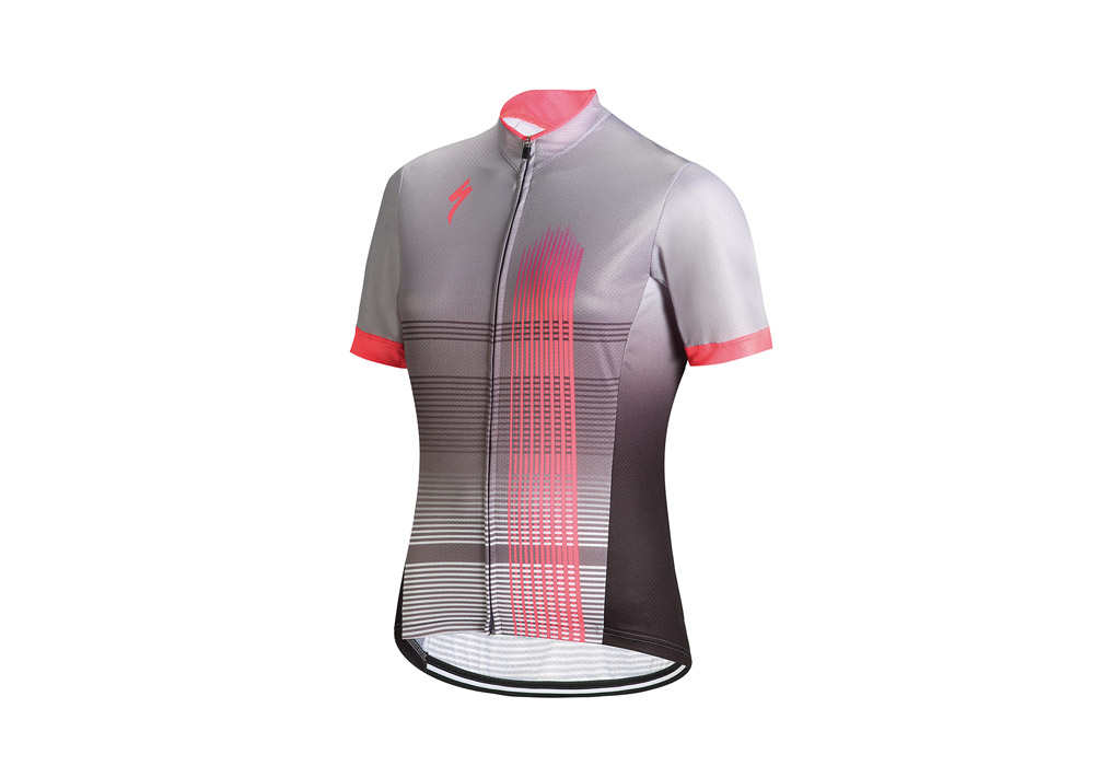 dámský dres Specialized Rbx Comp 2018 light gray/neon pink