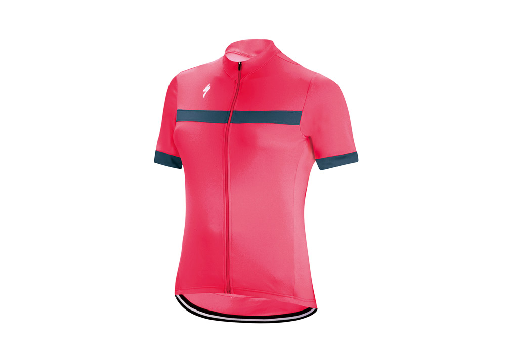 dámský dres Specialized Rbx Sport 2018 acid red/blue