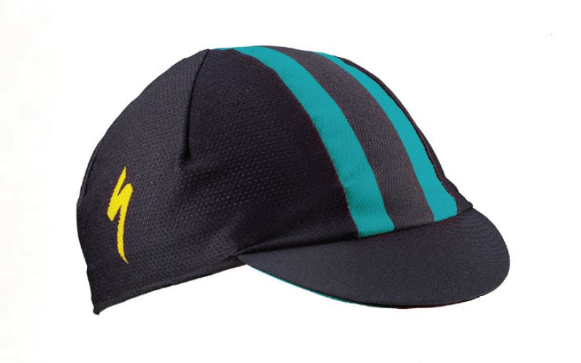 kšiltovka Specialized Cycling Cap 2018 black/dark teal/yellow