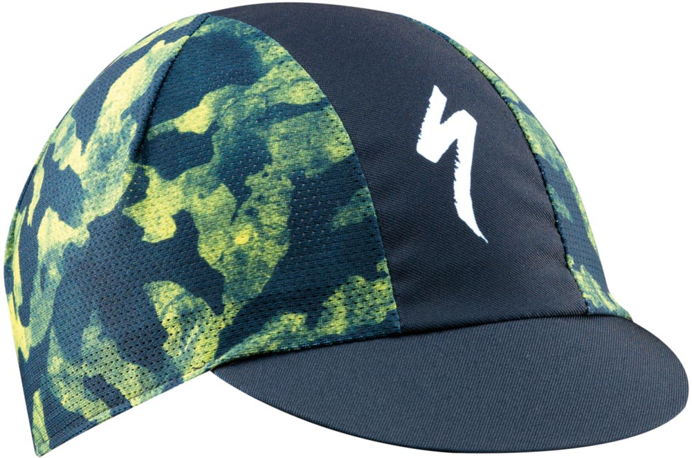 kšiltovka Specialized Cycling Cap Light Camo 2019 blue/ion yellow