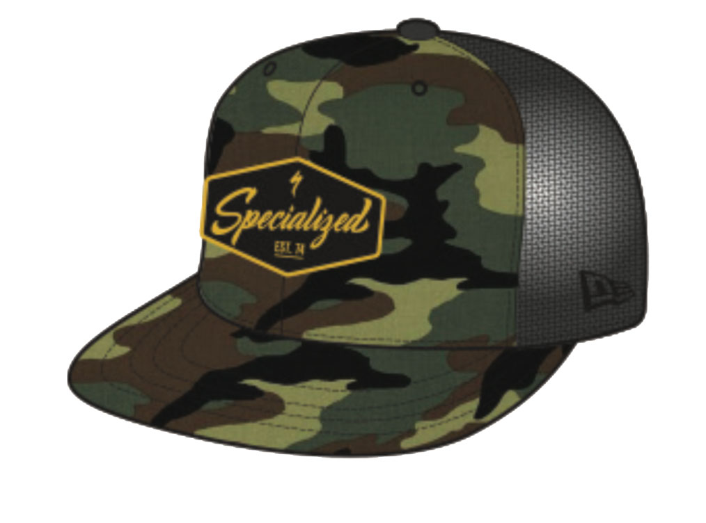 kšiltovka Specialized New Era 9Fify SnapBack 2020 camo/black/yellow