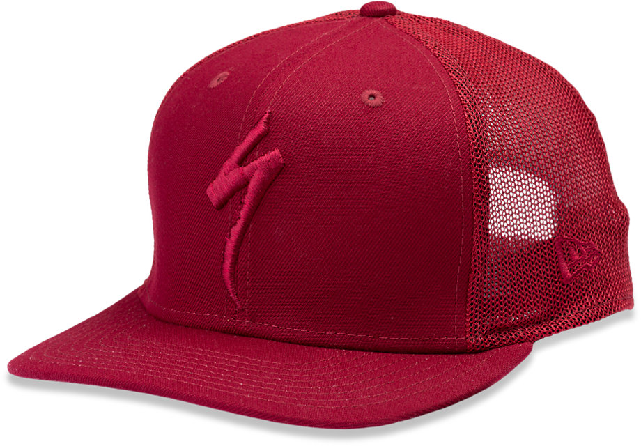 kšiltovka Specialized New Era Trucker Hat S-Logo 2020 crimson