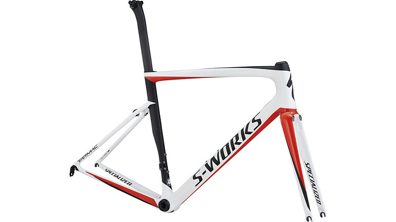 rám silničního kola Specialized S-Works Tarmac SL6 2018 light white/red/black