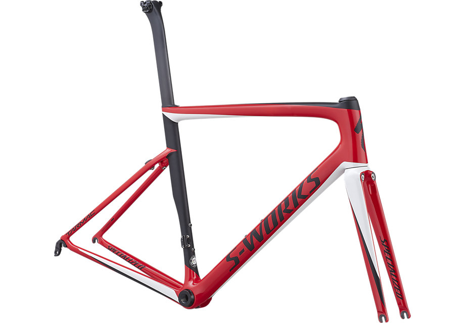 rám silničního kola Specialized S-Works Tarmac SL6 2019 gloss red/white/black