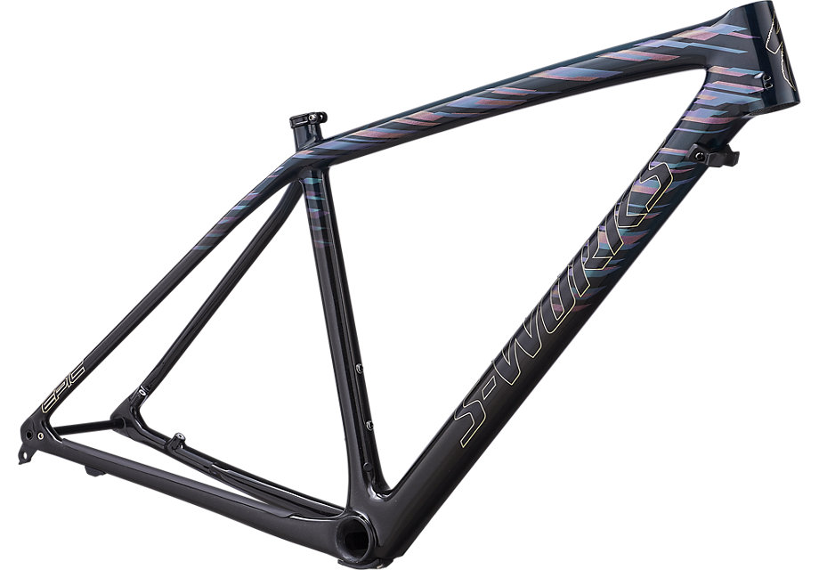 "rám horského kola Specialized S-Works Epic HT Carbon LTD 29"" 2019 gloss teal/red/black"