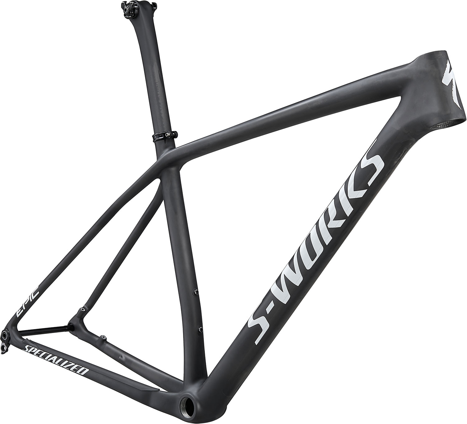 "rám horského kola Specialized S-Works Epic HT 29"" 2021 satin gloss carbon/white"