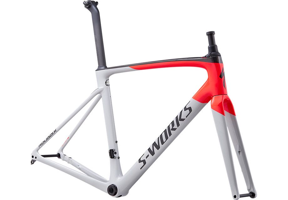 rám Specialized S-Works Roubaix 2020 gloss gray/red