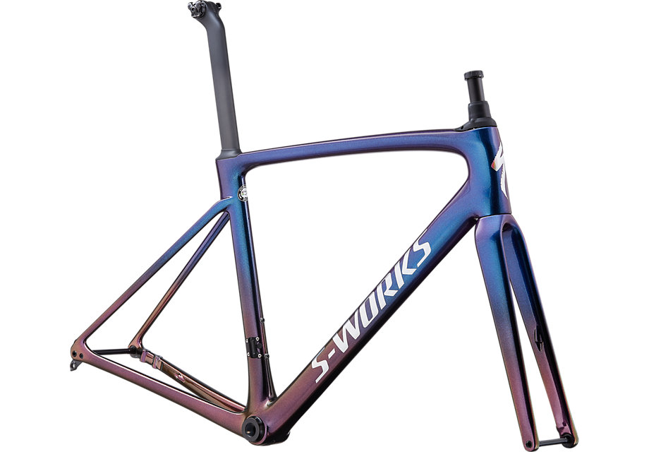 rám Specialized S-Works Roubaix 2020 chameleon/holographic