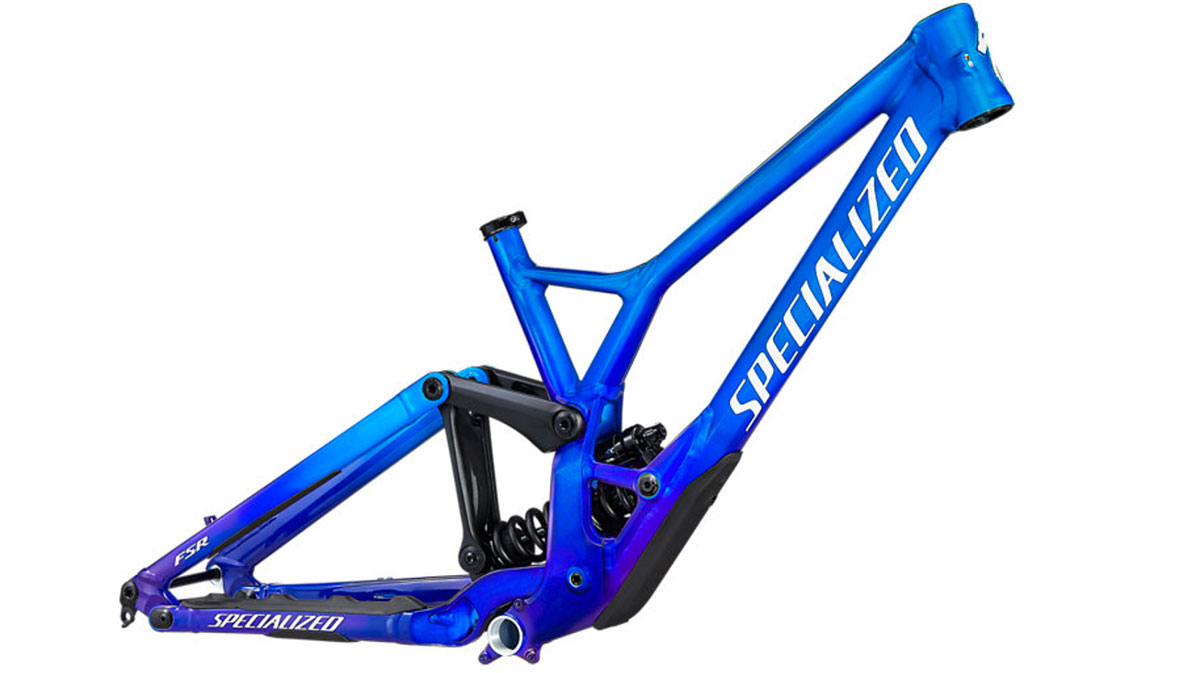 rám horského kolo Specialized Demo Race 2021 gloss cobalt/blue