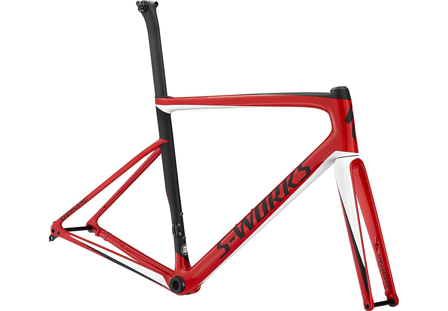 rám silničního kola Specialized S-Works Tarmac SL6 Disc 2019 gloss red/white/black