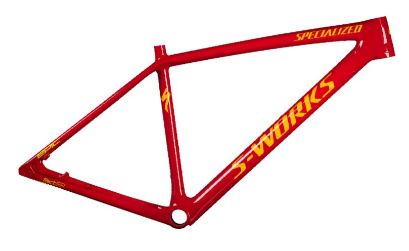 rám Specialized S-Works Epic HT 2018 flored/yellow
