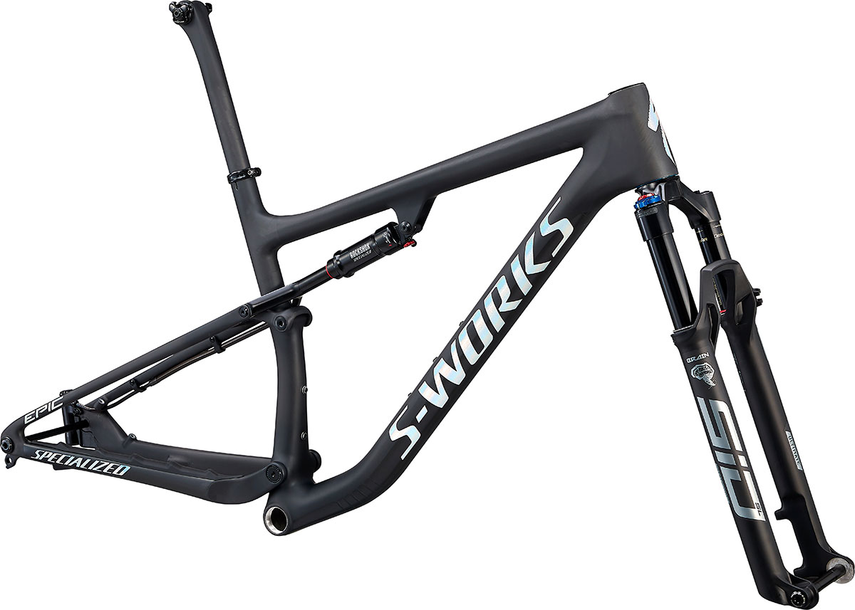 "rám horského kola Specialized S-Works Epic FS 29"" 2021 satin carbon/spectaflair"