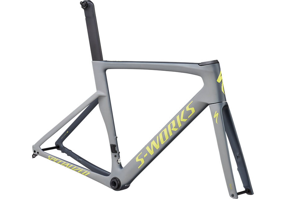 rám silničního kola Specialized S-Works Venge Disc 2019 battleship/gray/yellow