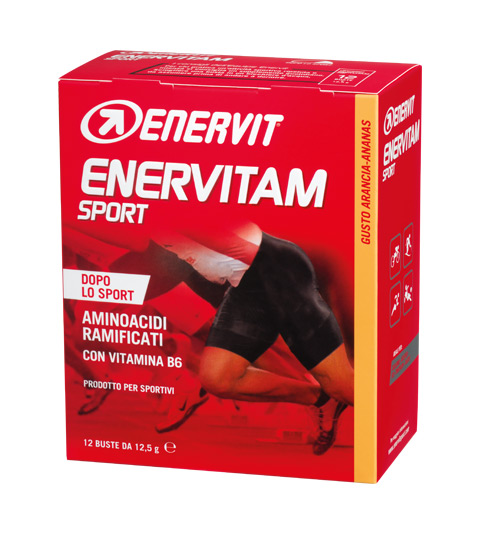 Enervit Enervitam Sport 12x12,5g orange/pineapple