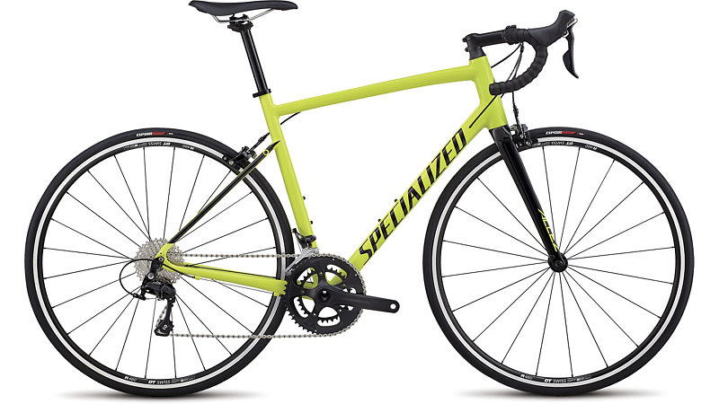 silniční kolo Specialized Allez E5 Elite 2018 gloss team yellow/black