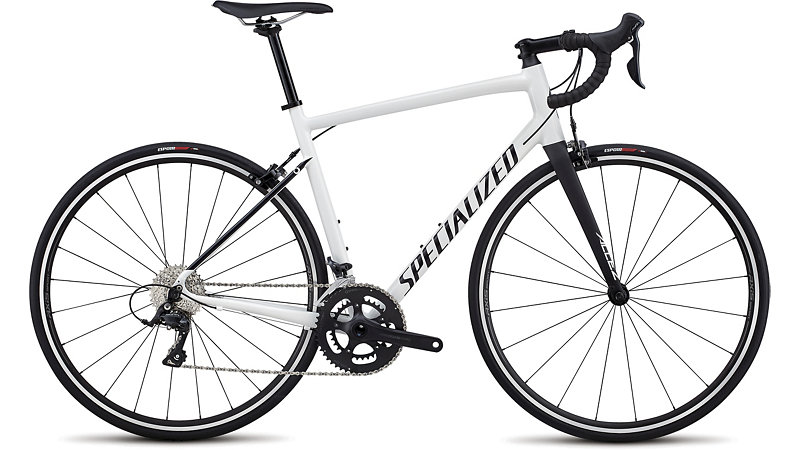 silniční kolo Specialized Allez E5 Sport 2018 gloss white/black