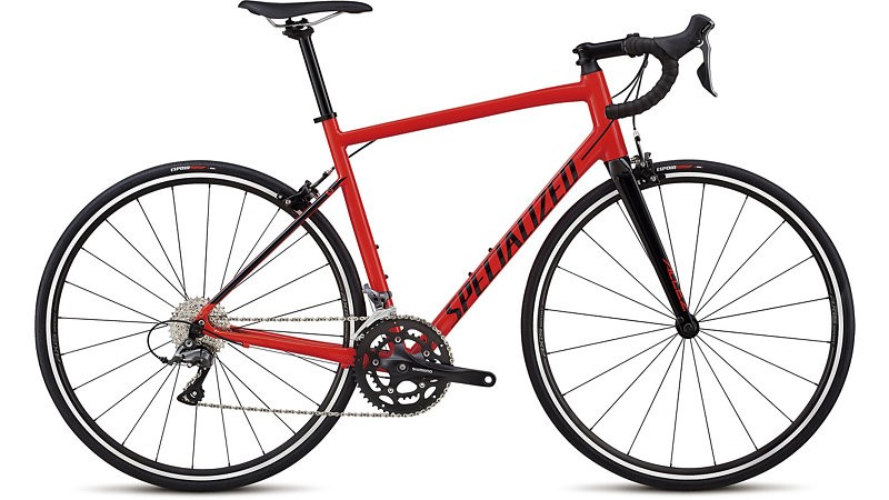 silniční kolo Specialized Allez E5 2018 gloss red/black