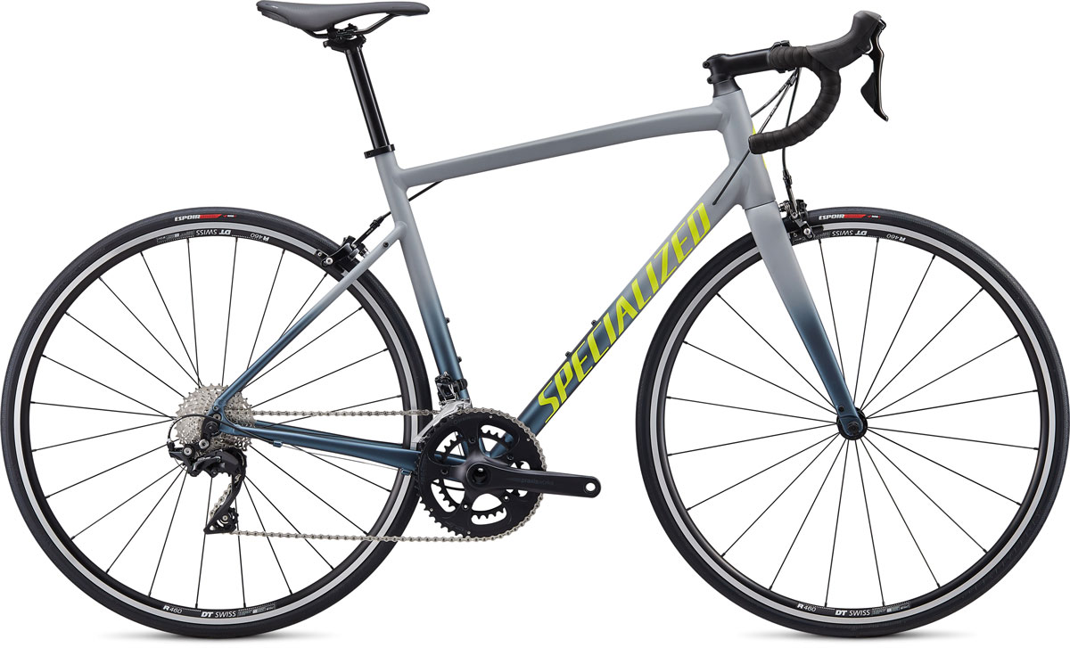 silniční kolo Specialized Allez E5 Elite 2020 gloss gray/clean
