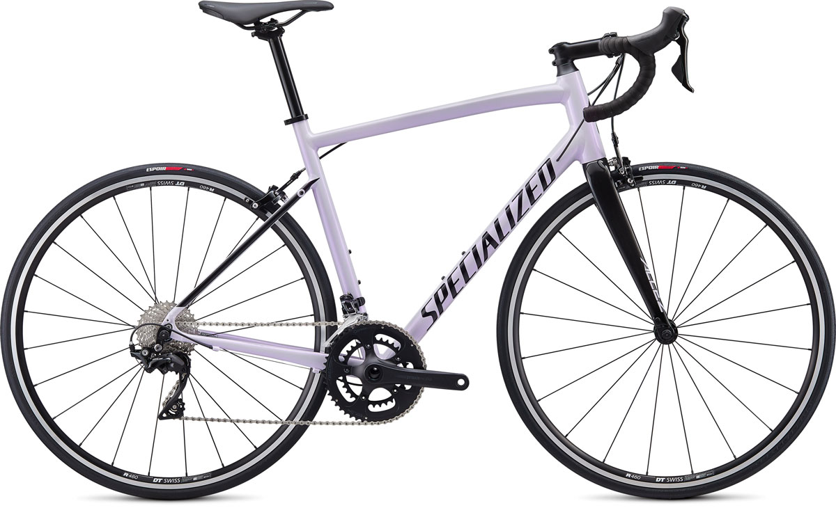 silniční kolo Specialized Allez E5 Elite 2020 gloss lilac/black