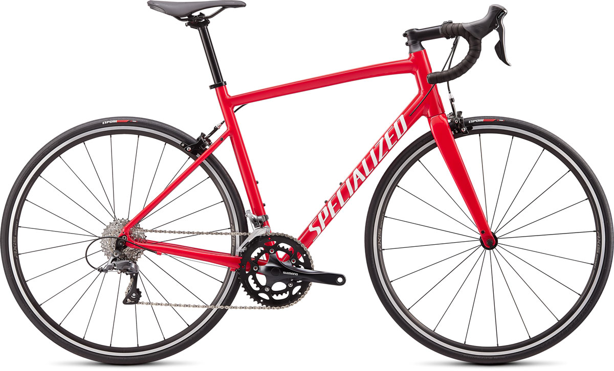silniční kolo Specialized Allez E5 2020 gloss red/white