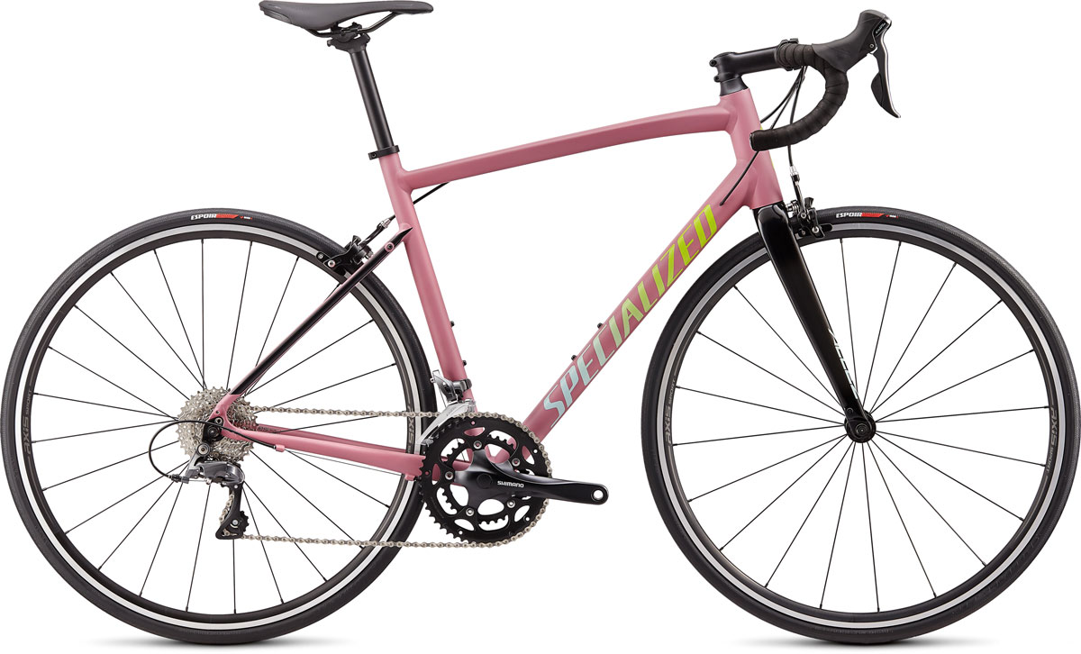 silniční kolo Specialized Allez E5 2020 satin/gloss lilac/black