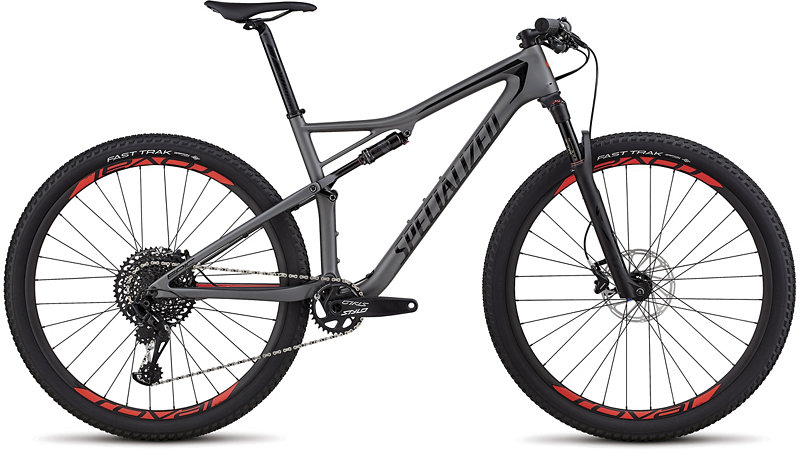 "horské kolo Specialized Epic Expert Carbon 29"" 2018 satin charcoal/black/red"