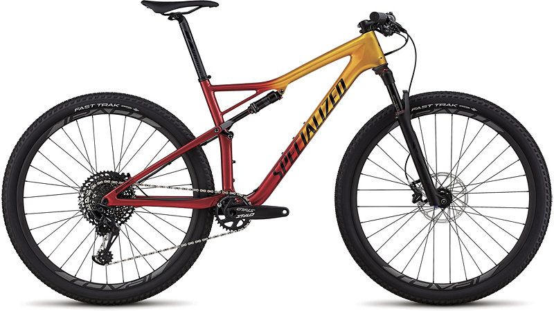 "horské kolo Specialized Epic Expert Carbon 29"" 2018 gloss gold/black/red"