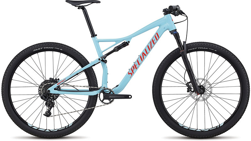 "horské kolo Specialized Epic Comp 29"" 2018 gloss light blue/red"