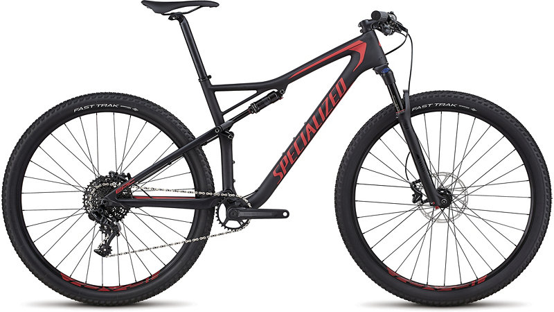 "horské kolo Specialized Epic Comp Carbon 29"" 2018 satin black/red"