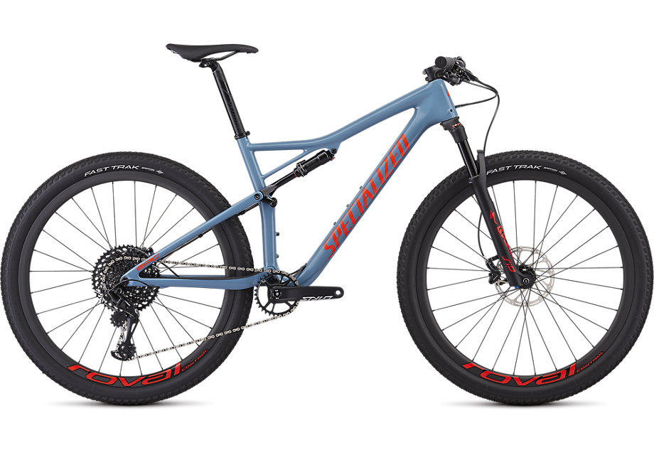 "horské kolo Specialized Epic Expert Carbon 29"" 2019 gloss gray/red"
