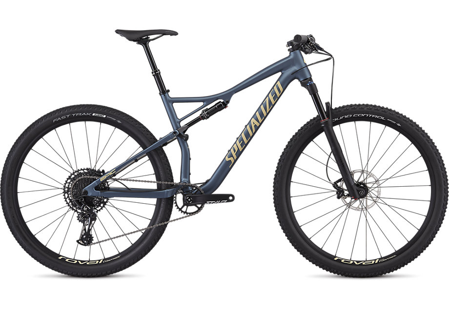 "horské kolo Specialized Epic Comp Evo 29"" 2019 battleship/gold - bazar"