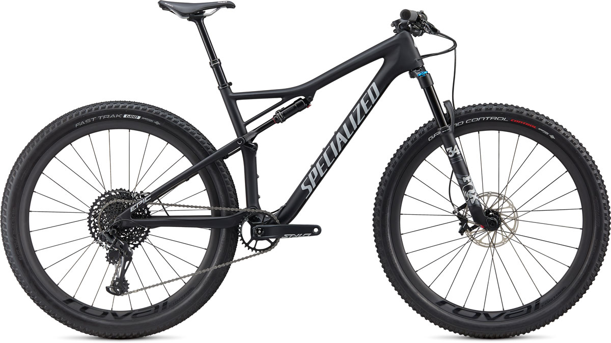 "horské kolo Specialized Epic Expert Carbon Evo 29"" 2020 satin black/gray"