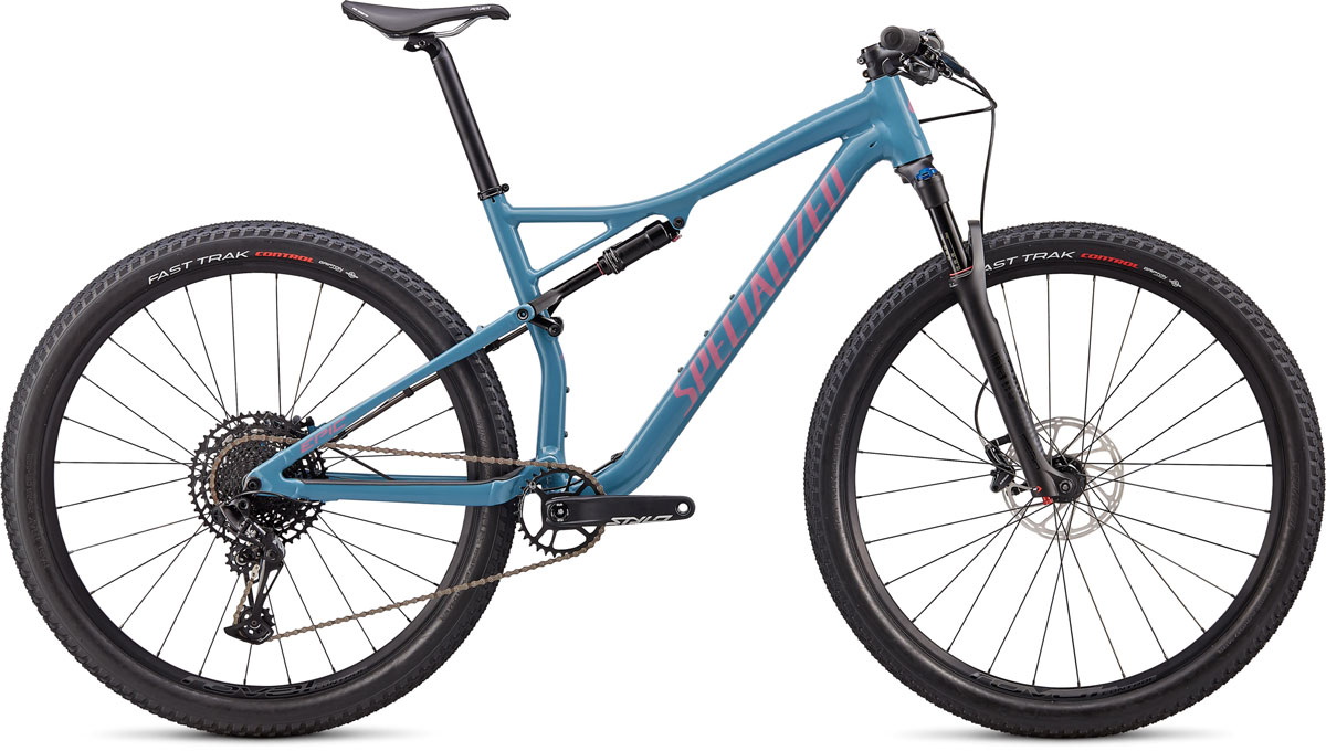 "horské kolo Specialized Epic Comp 29"" 2020 gloss storm gray/lilac"