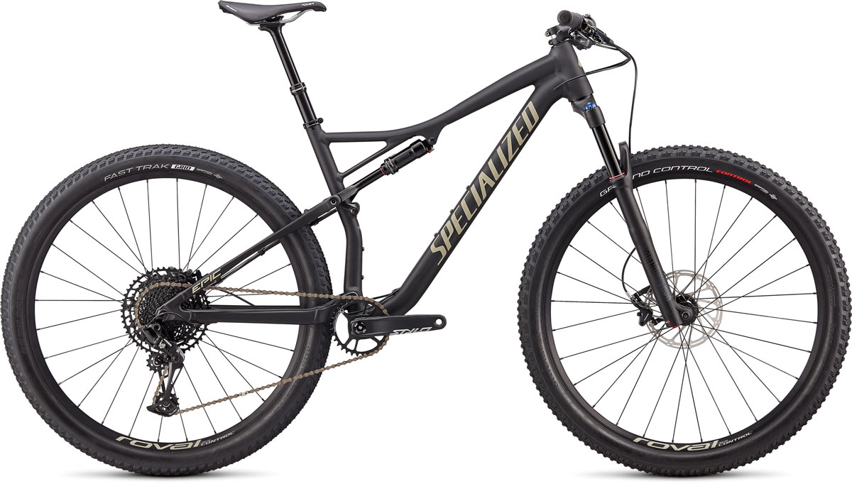 "horské kolo Specialized Epic Comp Evo 29"" 2020 satin black/sierras"